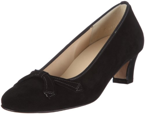 Hassia Rimini Weite G 2-304612-66000, Escarpins femme Noir (Black V6)