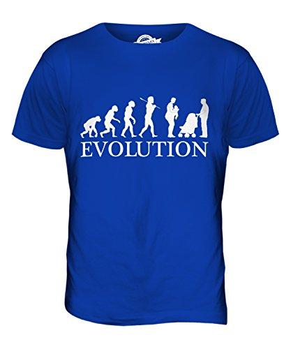CandyMix Neue Mutter Evolution Des Menschen Herren T Shirt Königsblau