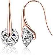 Mestige Eclipse Earrings with Swarovski Crystals for Women&#