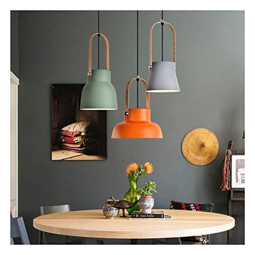 Lampadario lampadario moderno e minimalista in ferro battuto color 3 lampada a sospensione a soffitto illuminazione studio sala da pranzo soggiorno camera da letto bar caffetteria e27led luce calda yl