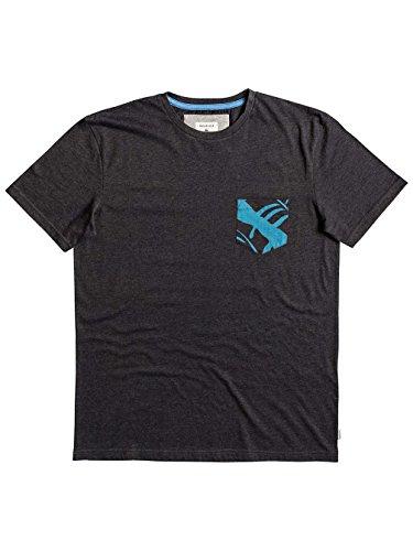 Herren T-Shirt Quiksilver Shd Floral Pocket T-Shirt Tarmac