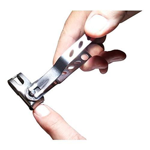 Sgirl® meilleure Précision rotatif Coupe-ongles avec tête pivotante - Idéal pour les ongles épais - Extra Sharp Pince en acier inoxydable pour homme ou femme (s)
