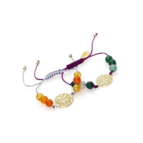 PANDURO Kit 2 Bracelets Automne doré