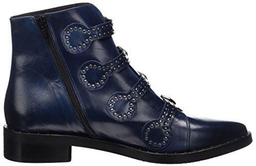 Zinda 3264, Botas De Mujer Azul (azul Marino)
