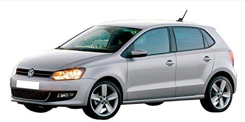 Déflecteurs pour VW Polo, G + D 2009-2017 / Avant et Arriere, 4 pcs, 5-Portes