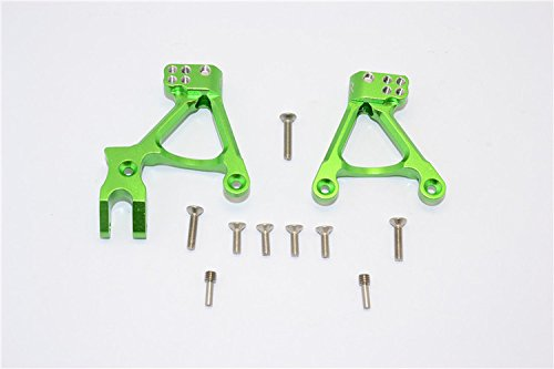 Axial SCX10 II Tuning Teile (AX90046, AX90047) Aluminium Front Shock Hoops - 1Pr Set Green -