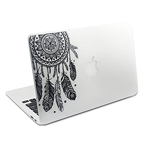 Easy Gift Dream Catcher Decal Removable Vinyl Macbook Decal Sticker Decals Skin with Precision-cut for Apple Macbook Air Macbook Pro Mac Laptop 13 15