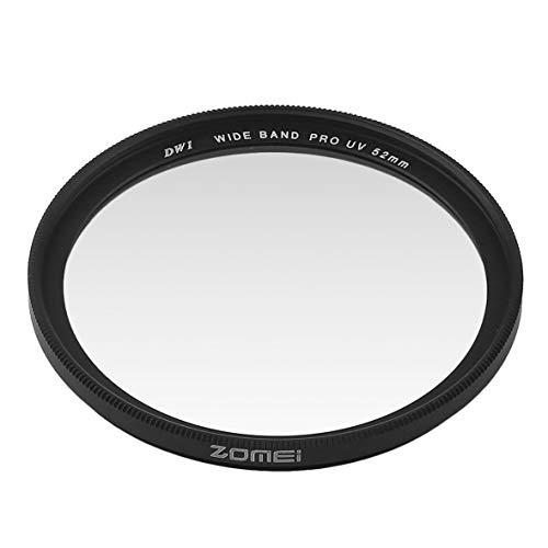 Heaviesk UV-Filter Zomei Standard-Rahmenkamera UV-Filterobjektiv Schutzfilter für Canon für Nikon für Sony - 52mm Filter Nikon