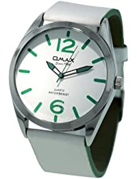 Omax Analog White Dial Unisex's Watch - TS431