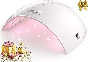 Abody Lampada Unghie UV LED da 24W per Manicure Strumento, Fornetto Unghie Portatile Professionale con Automatico...