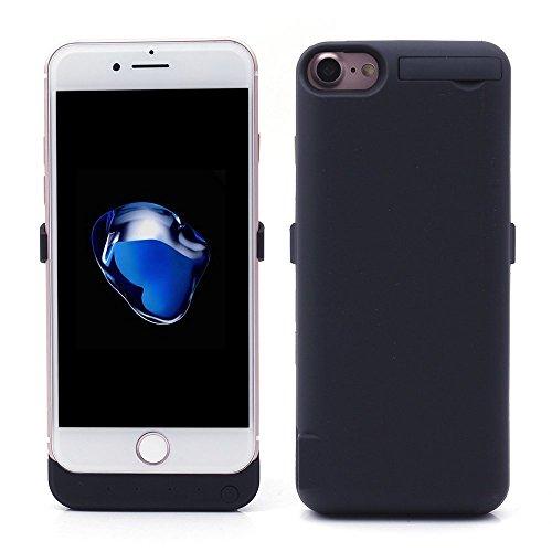 iprotect Power Case Hülle mit Integriertem Ersatz-Akku 5,8A 5800mAh für Apple iPhone 7 Plus (5,5 Zoll) Batterie in Schwarz