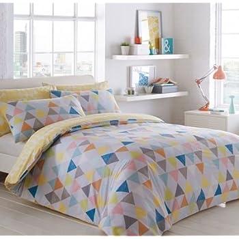 Ben de lisi home multicoloured printed world explorer bedding set ben de lisi home white triangles bedding set single gumiabroncs Choice Image