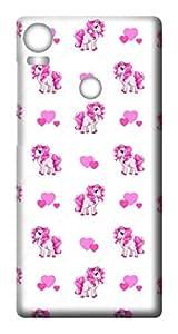Mott2 Back Case for HTC 10 Pro | HTC 10 ProBack Cover | HTC 10 Pro Back Case - Printed Designer Hard Plastic Case - Girls theme