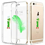 iPhone 6 Hülle, iPhone 6S Hülle, Caroki TPU Hülle, [Slim Fit] 3D-Relief-Lackierungstechnologie [Scratch Resistant/Shock Absorption] Soft TPU Schutzhülle für iPhone (iPhone6/6S, Frosch)