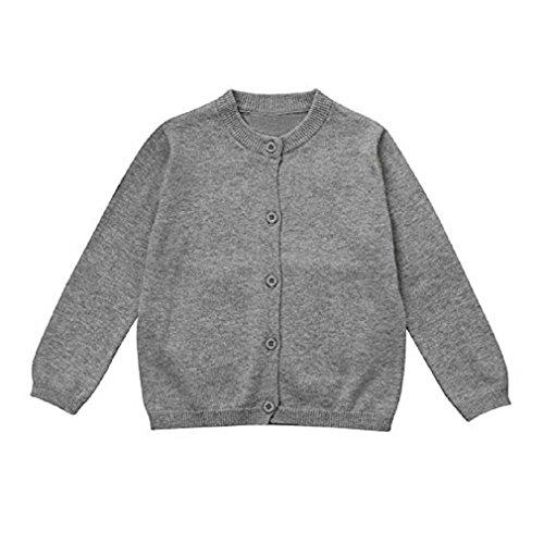 9bab8c48194eb1 Abbigliamento per bambini, Fittingran Autunno Inverno Neonati maschi  Ragazze Cardigan Maglioni a maglia Cappotti lavorati