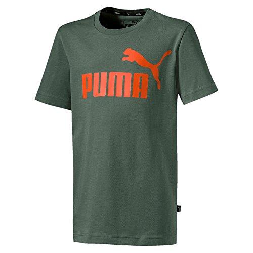 Puma Jungen ESS Logo Tee B T-Shirt, Laurel Wreath, 104