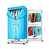 Wäscheständer, Heißlufttrockner, energiesparende 1,5 Meter Kleidung Trockner Digital Automatic Timer