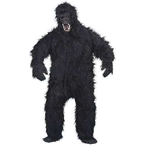 Gorilla Costumes Masque - Gorilla Costume Homme Noir Taille