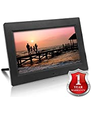 Xech Digital Photo Frame with Remote 10 inches