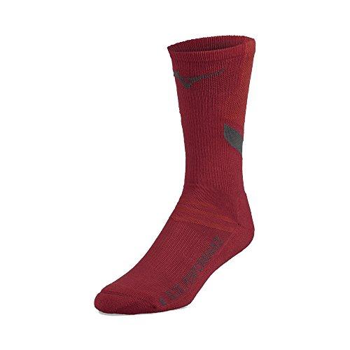 Mizuno Volleyball runbird Crew Socken Rot (Socken Volleyball Rot)