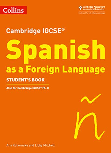 Cambridge IGCSE™ Spanish Student's Book (Collins Cambridge IGCSE™) (Collins Cambridge IGCSE (TM)) por Libby Mitchell