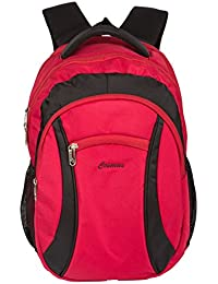 Cosmus Warrior Laptop Backpack For 15.6 Inch Laptop (Red & Black)