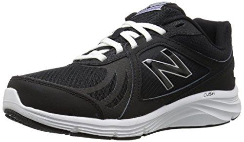 New Balance Women's 496v3 Walking Shoe, Black/White, 10 2A US Black/White