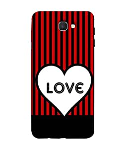 PrintVisa Designer Back Case Cover for Samsung Galaxy On7 (2016) (love heart superb cute image)