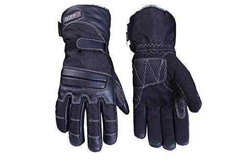 Sonic Racewear Thinsulate, guanti termici da moto, in pelle, impermeabili, estiv
