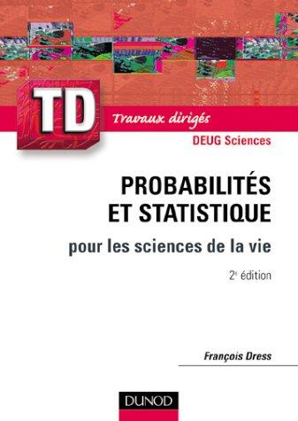 TD de probabilits et statistique pour les sciences de la vie