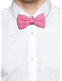 Tossido Knitted Pink Subtle Bow Necktie (TBNK10)
