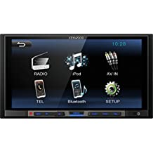 Kenwood DMX100BT - Receptor multimedia, radio para coche, color negro