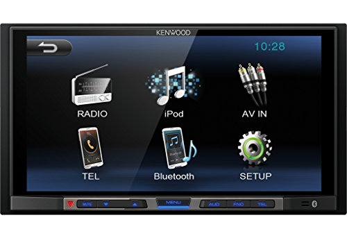 Kenwood DMX100BT - Receptor multimedia, radio para...