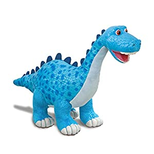Dinosaur Roar Munch The Diplodocuments Suave, 61234, Juguete Azul para niños, Museo de Historia Natural