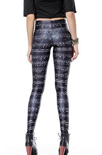 Ahatech Damen Gedruckte Leggings - 22 Muster Farbe 22