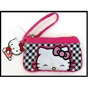Pink Hello Kitty Geldbeutel-Hello Kitty Reißverschluss Geldbörse (Geldbörsen Kitty Hello)
