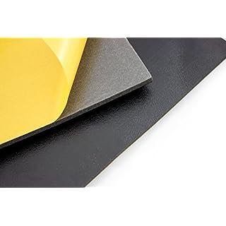 DSM Schaumstoffmatte 1.000 x 500 x 11mm (10 Stück) DSM-Matte Schaumstoff Dämmschaummatten Schallisolierung Anti-Dröhn-Matte Alubutyl Schallabsorber Dämmung Anti-Dröhn Schallakustik Noppenschaum Akustikschaum Schallschutz Akustikschaumstoff Wärmepumpe Hausbau Keller Dachgeschoß Flur Heizungsraum Heizungskeller Bauakustik Decken Raumakustik Schallschutzschaummatte dämmen