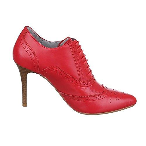 Ital-Design - Stivaletti Donna Rosso (rosso)