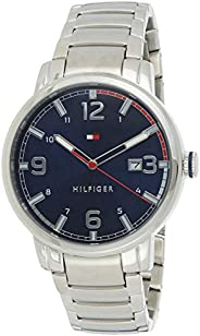 Tommy Hilfiger men's Blue Dial Stainless Steel Watch - 179