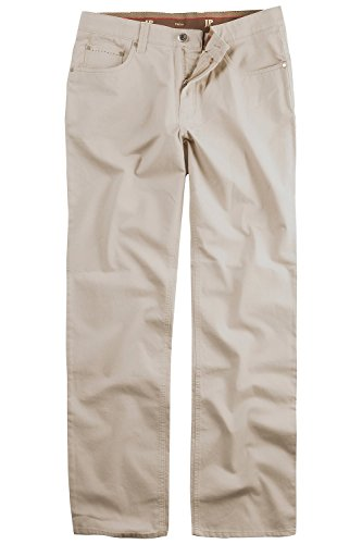 JP1880 Homme Grandes tailles Pantalon stretch 5 poches 705253 Sable