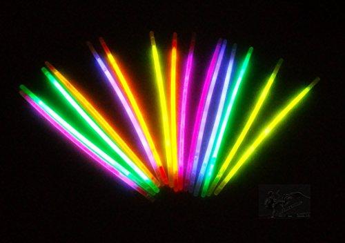 2 Sets Glow In The Dark Stäbchen a 15 Stck. Knicklichter Neonlicht
