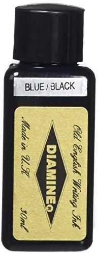 Diamine Ink,Blue Black,schwarzblau,Tinte für Füllfederhalter,30 ml