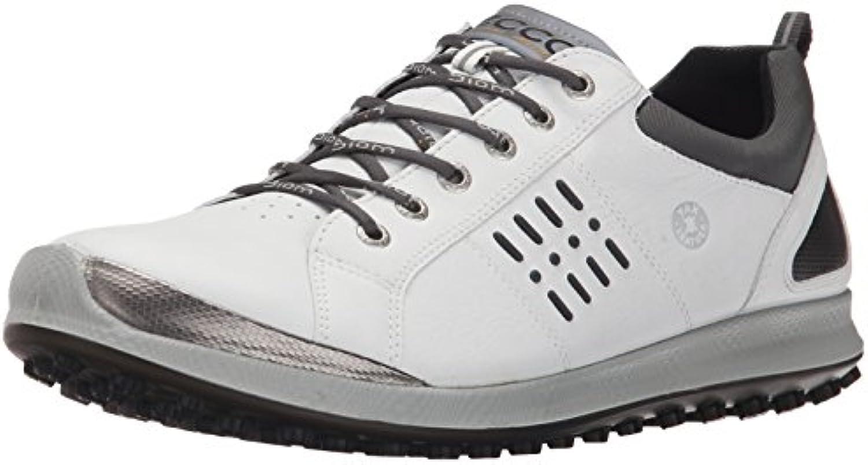 ECCO Biom Hybrid 2 GTX Zapatillas, Hombre, Blanco (White/Black), 40 EU