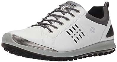 Ecco Men's ECCO MEN'S GOLF BIOM HYBRID 2 Golf Shoes White Size: 7 UK