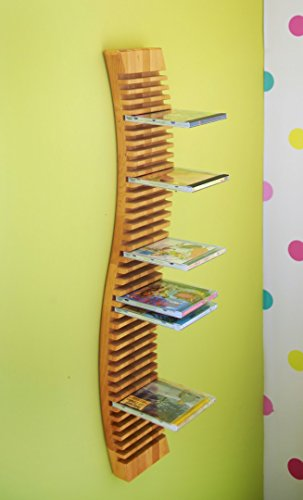Risparmio set: Pedente scaffale cd 120 cm con 4 ripiani aggiuntivi. Ontano biologica