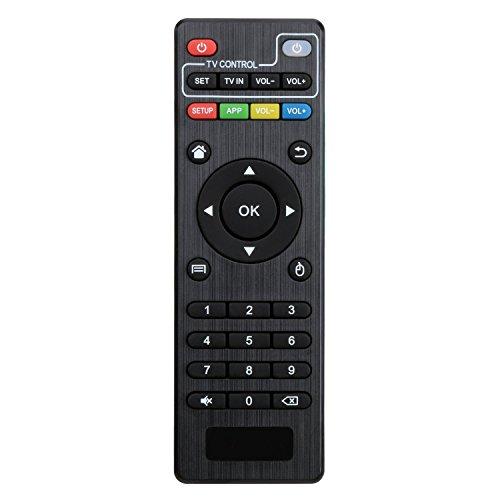 Bqeel Télécommande de remplacement pour Android Smart TV Box KODI IPTV Media Player Compatible uniquement avec notre BOX TV MXQ/MXQPro