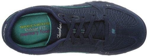 Skechers Breathe-EasyJust Relax 22459, Sneaker Donna Blu (Blue (NVAQ))