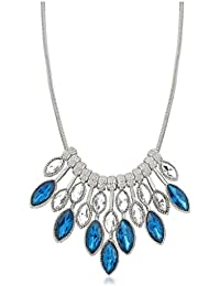 Vk Jewels Wedding Collection Silver Brass Alloy Necklace Set For Women Vknks1290R