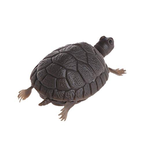 planuuik Dekoriere gefälschte Schildkröte Aquarium Emulational Floating Turtles zum Aquarium Dekor Wie die Bilder Zeigen -