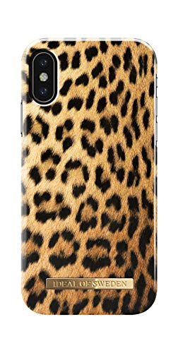 Wild Leopard (iDeal of Sweden Handyhülle für iPhone XS & X (Wild Leopard))